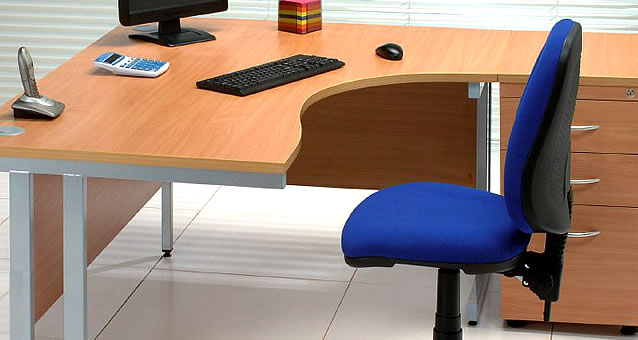 Corner Office Desks Left Right Handed Radial Desks Officesource