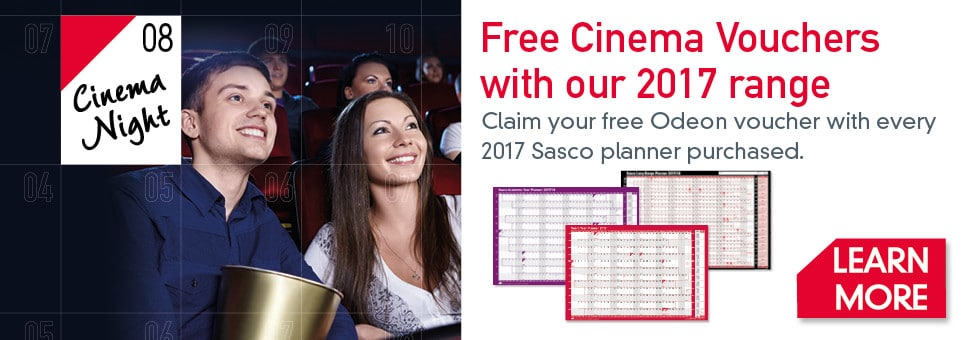 Sasco Wall Planner 2017 Offer