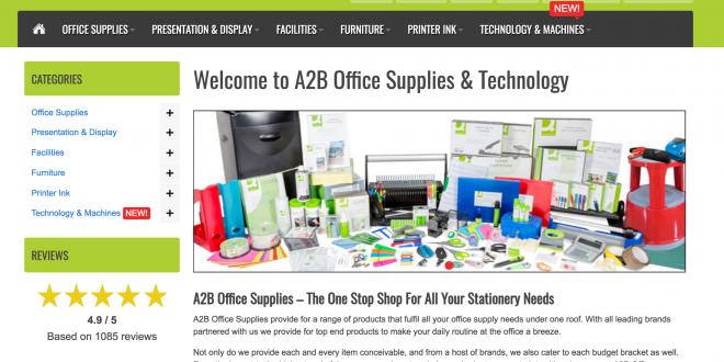 A2B Office Supplies