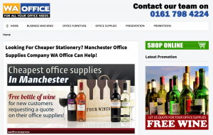 WA Office Supplies Manchester