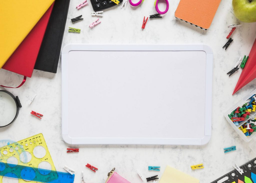 A4 dry wipe boards